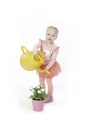 Plantjes water geven