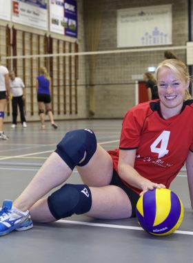 Portretfoto volleybalster