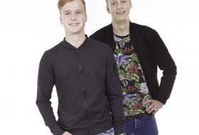 Portretfoto broers