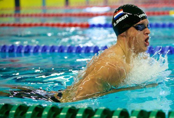 Sportfoto zwemmer