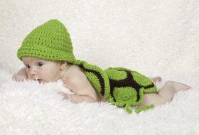 Newborn schildpadje