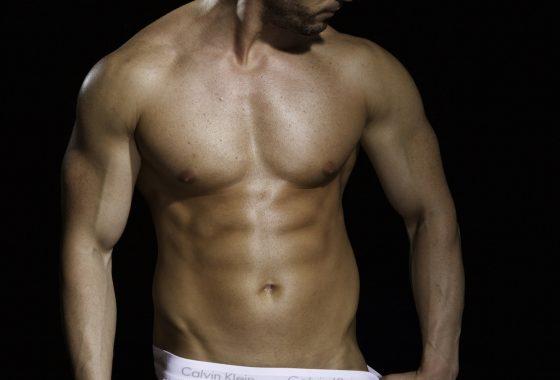 Fotoshoot mannelijk model